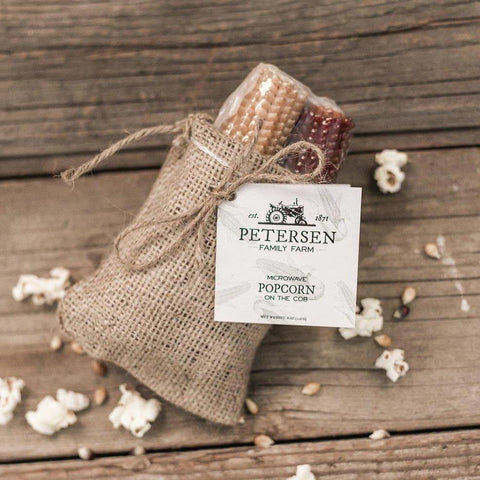 Petersen Family Farm - Popcorn on the Cob (Burlap) - Galena River Wine and Cheese