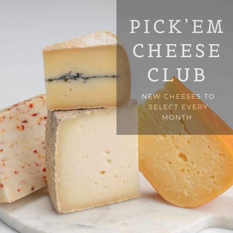 Pick'em Cheese of the Month Club (IA, IL, MI, MN, MO & WI residents)-Galena River Wine and Cheese