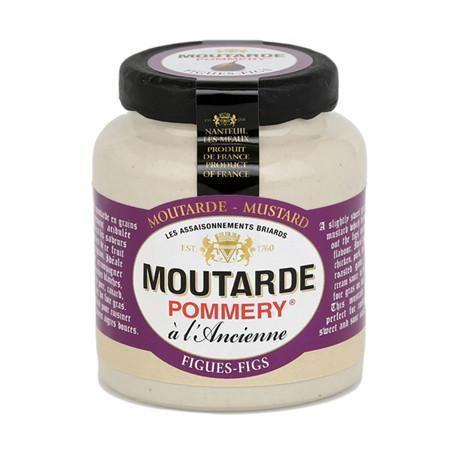 Pommery Fig Mustard 3.5oz - Galena River Wine and Cheese