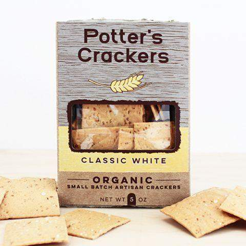 Potter's Classic White Flatbread 5oz-Galena River Wine and Cheese