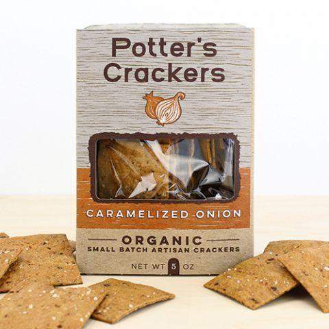Potter's Crackers Caramelized Onion 5oz-Galena River Wine and Cheese