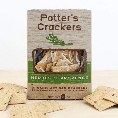Potter's Crackers Herbes de Provence 5oz-Galena River Wine and Cheese
