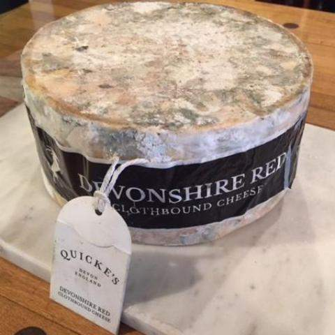 Quicke's Devonshire Red Leicester-Galena River Wine and Cheese