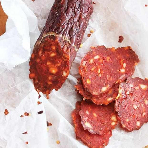Red Bear Provisions Del Toro Chorizo Dry Salami 8oz - Galena River Wine and Cheese
