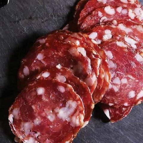 Red Bear Provisions Haute Porc Dry Salami 8oz-Galena River Wine and Cheese