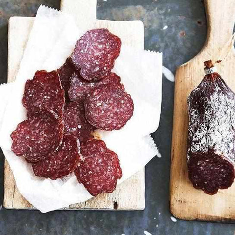 Red Bear Provisions Tipsy Cow Dry Beef Salami 8oz - Galena River Wine and Cheese
