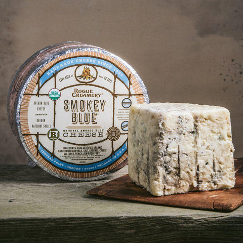 Rogue Organic Smokey Blue-Galena River Wine and Cheese