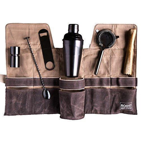Root7 Cocktail Bag and Tools