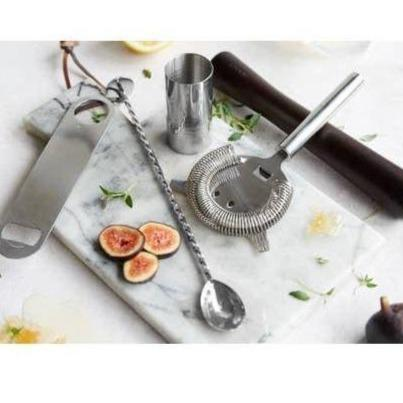 Root7 Stainless Steel Cocktail Set of 5-Galena River Wine and Cheese