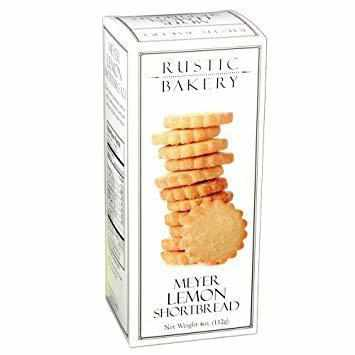 Rustic Bakery Meyer Lemon Shortbread 4oz-Galena River Wine and Cheese