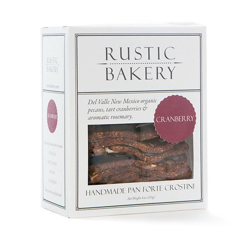 Rustic Bakery Pecan & Cranberry Crostini 5oz - Galena River Wine and Cheese