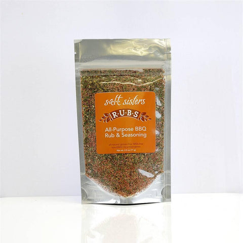 Salt Sisters All-Purpose BBQ Rub & Seasoning 2.5 oz - Galena River Wine and Cheese