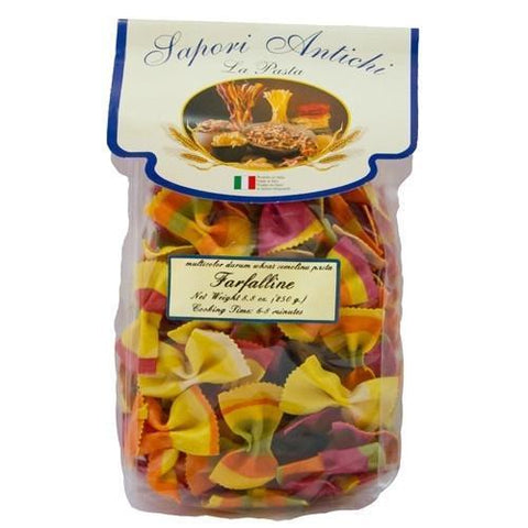 Sapori Antichi Multicolor Farfaline 8.8oz - Galena River Wine and Cheese