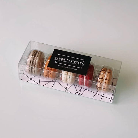 Savor Patisserie French Macarons The Best Sellers Box - Gift Box of 5-Galena River Wine and Cheese