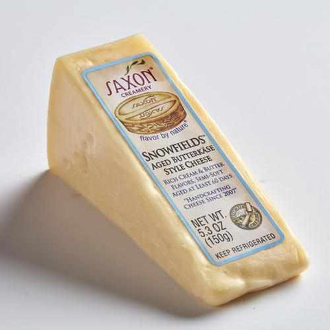 Saxon Creamery Snowfields Butterkase-Galena River Wine and Cheese
