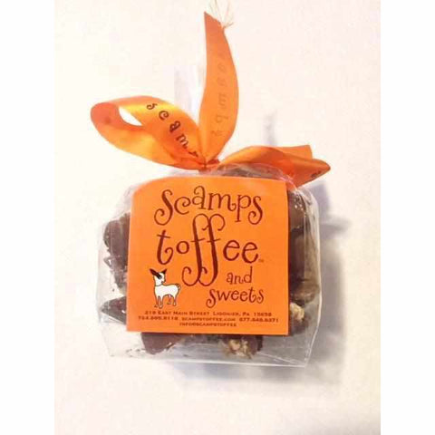 Scamps Milk Chocolate Toffee 4oz bag - Galena River Wine and Cheese