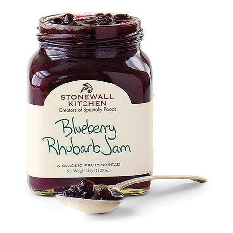 Stonewall Blueberry Rhubarb Jam 11.25 oz - Galena River Wine and Cheese