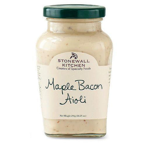 Stonewall Maple Bacon Aioli 10.25oz - Galena River Wine and Cheese