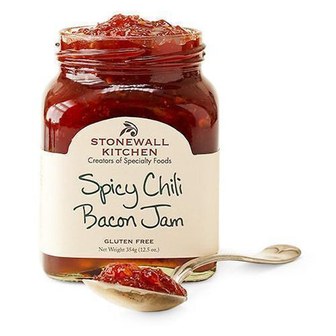 Stonewall Spicy Chili Bacon Jam 12.5 oz - Galena River Wine and Cheese