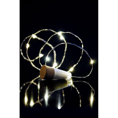 Suck UK - USB Rechargeable Bottle String Light-Galena River Wine and Cheese