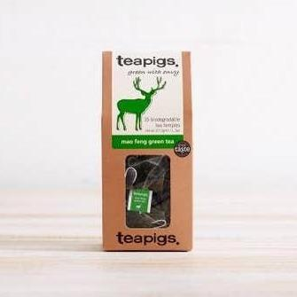 Teapigs Mao Feng Green Tea 15 count-Galena River Wine and Cheese
