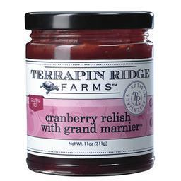 Terrapin Ridge Cranberry Relish with Grand Marnier 11oz - Galena River Wine and Cheese