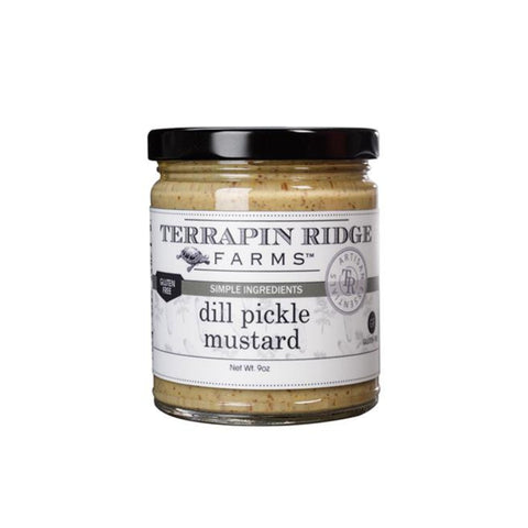 Terrapin Ridge Dill Pickle Mustard 8oz-Galena River Wine and Cheese