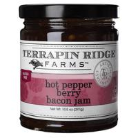 Terrapin Ridge Hot Pepper Berry Bacon Jam 10oz - Galena River Wine and Cheese