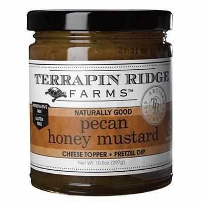Terrapin Ridge Pecan Mustard 10.5 oz - Galena River Wine and Cheese