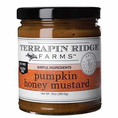 Terrapin Ridge Pumpkin Honey Mustard 10oz-Galena River Wine and Cheese