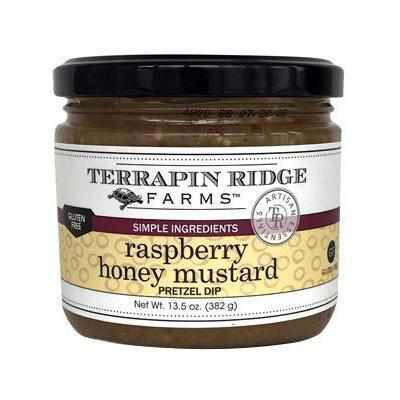 Terrapin Ridge Raspberry Honey Mustard Pretzel Dip 13.5oz-Galena River Wine and Cheese