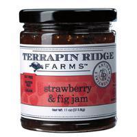 Terrapin Ridge Strawberry & Fig Jam 11oz-Galena River Wine and Cheese