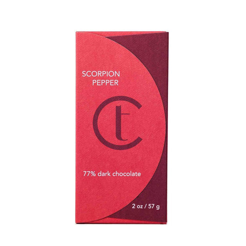Terroir Chocolate Dark Scorpoin Pepper 2 oz - Galena River Wine and Cheese