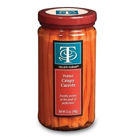 Tillen Farms Pickled Carrots 12oz - Galena River Wine and Cheese