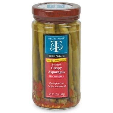 Tillens Spicy Asparagus 12oz - Galena River Wine and Cheese