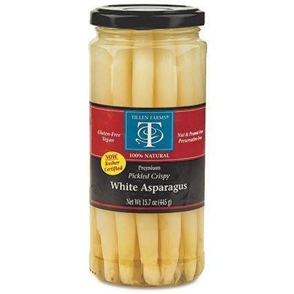 Tillens White Asparagus 15.7oz - Galena River Wine and Cheese