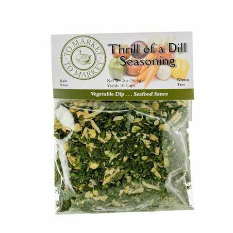 To Market To Market Thrill of a Dill Seasoning 2oz - Galena River Wine and Cheese