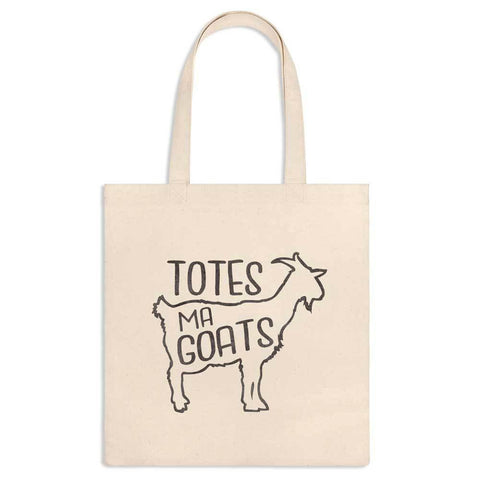 Totes Ma Goats Canvas Tote-Galena River Wine and Cheese