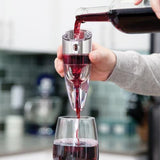 Twist Adjustable Aerator-Galena River Wine and Cheese