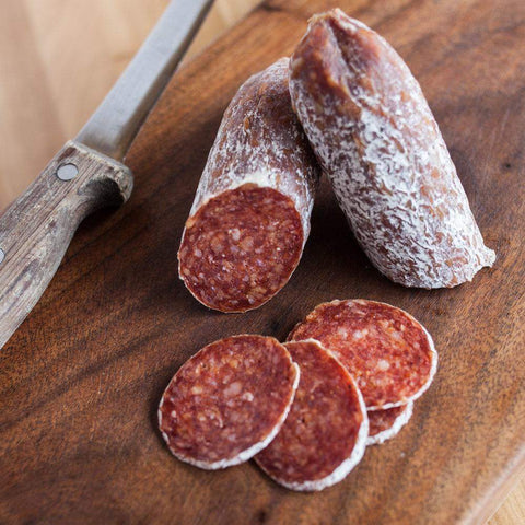 Underground Meats Ghost Pepperoni 6oz-Galena River Wine and Cheese