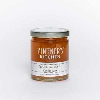 Vintner's Kitchen Apricot, Riesling & Vanilla Jam 7oz-Galena River Wine and Cheese