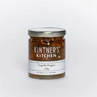 Vintner's Kitchen Tequila Pepper Jelly 7oz-Galena River Wine and Cheese