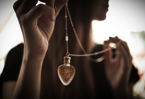 The Heart of the Setting Sun Amulet