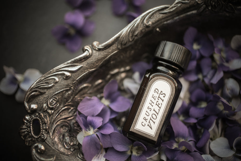Crushed Violets - Perfume Oil