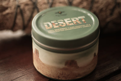 Desert Candle - travel tin