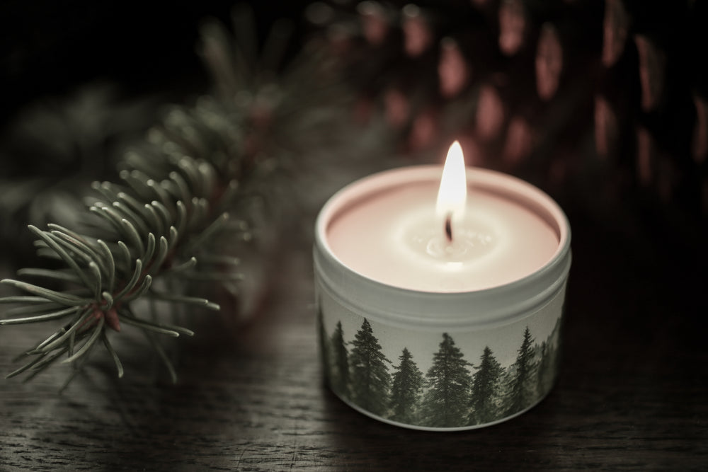 Forest Candle - travel tin