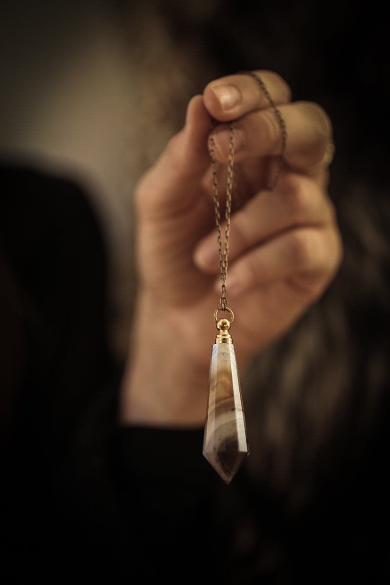The Pendulum Perfume Amulet