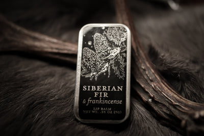 Siberian Fir & Frankincense - Perfumed Lip Balm