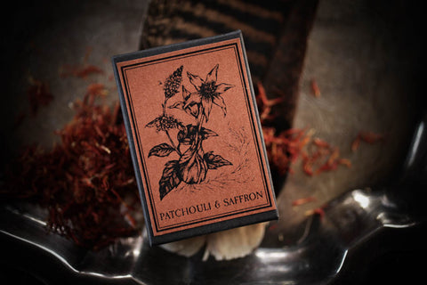 Patchouli + Saffron- Limited Edition Perfume for the 11/18/17 New Moon