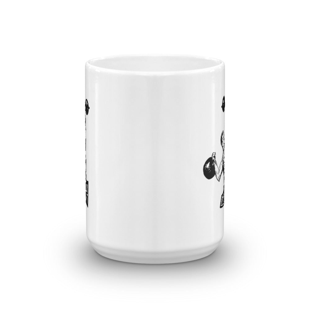 Brutally Elegant Coffee Mug (White)